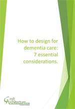 How design can support dementia care